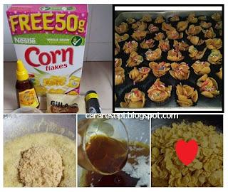 Cornflakes Madu Rangup Tanpa Bakar