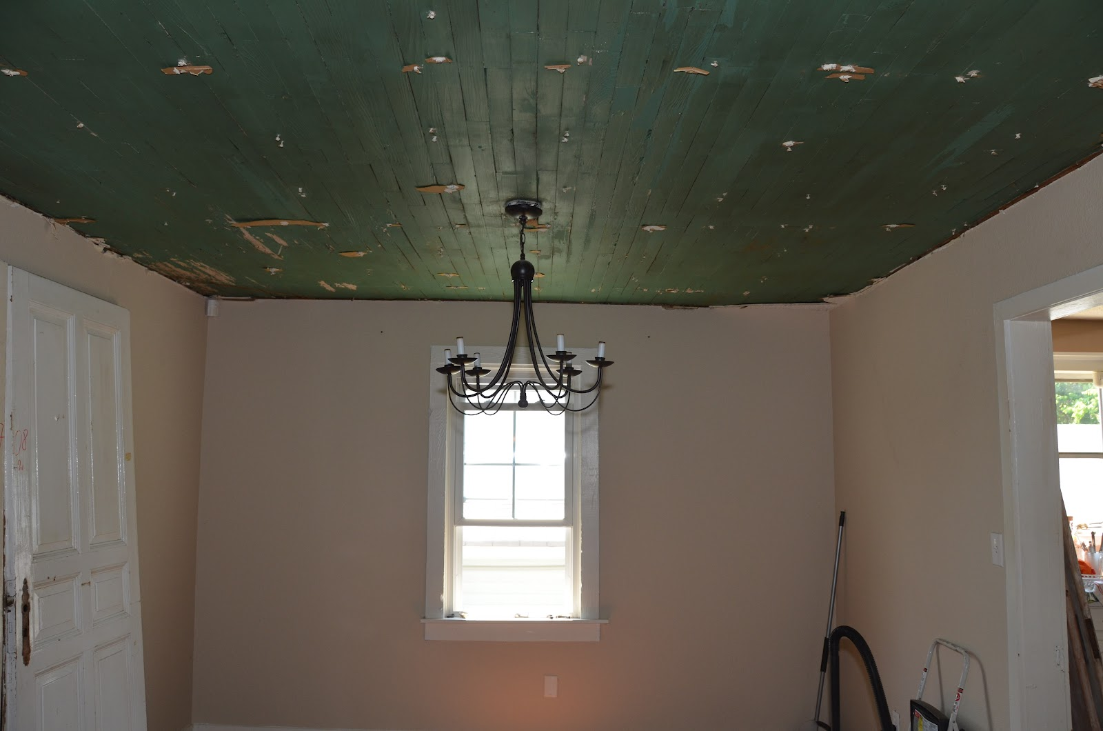 The Smith Nest}: Dining Room Ceiling ~ Part I