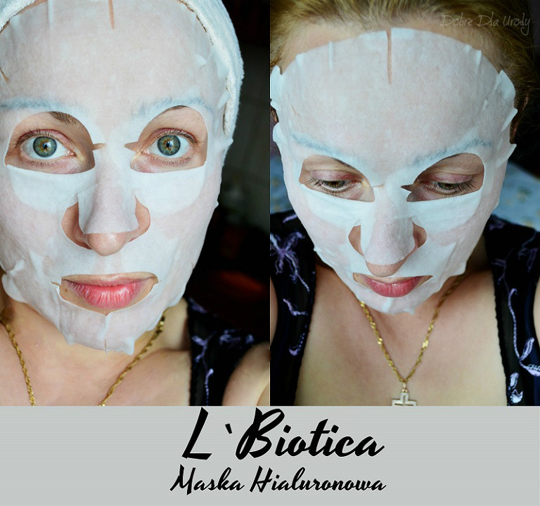 Maska hialuronowa L`biotica