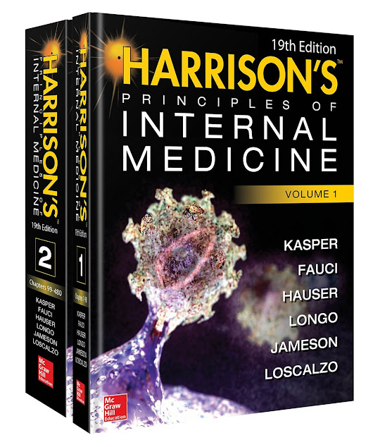Text book of Harrison's Principles of Internal Medicine : 19th Edition (2015)