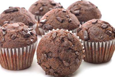 Recipe makes 6 muffins