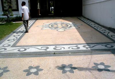 Tukang Taman Jojga Jawa Tengah Desain carport Batu ampyangan