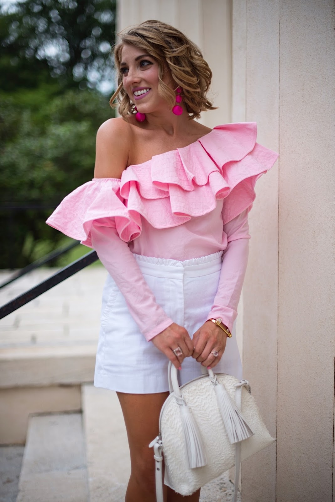 Ruffled Top - Click through to see more on Something Delightful Blog!