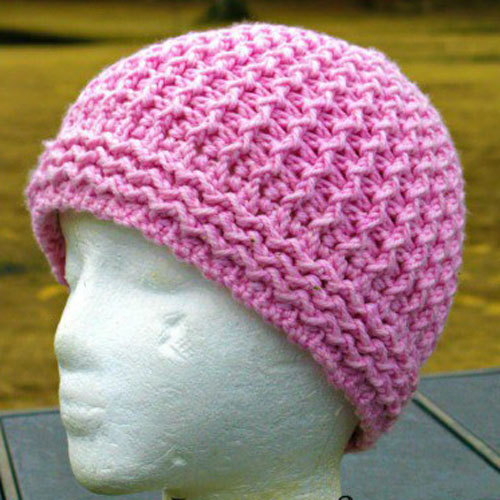 Just Groovin' Crochet Beanie - Free Pattern