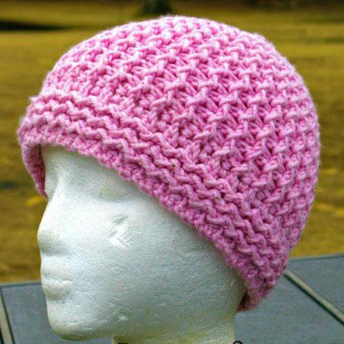 Just Groovin' Crochet Beanie - Free Pattern