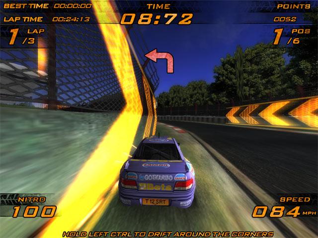 تحميل لعبة السيارات Nitro Racers - تحميل العاب مجانا