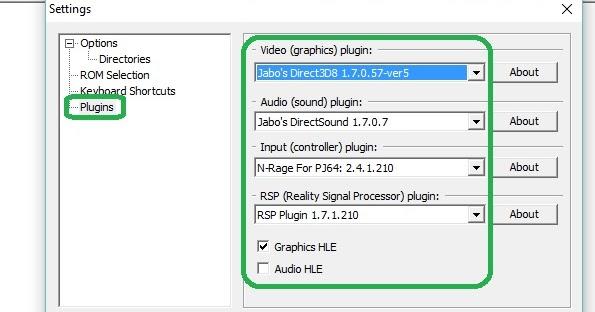project 64 2.3 controller plugin