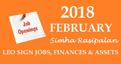 2018 February Simha Rasi Palanga;