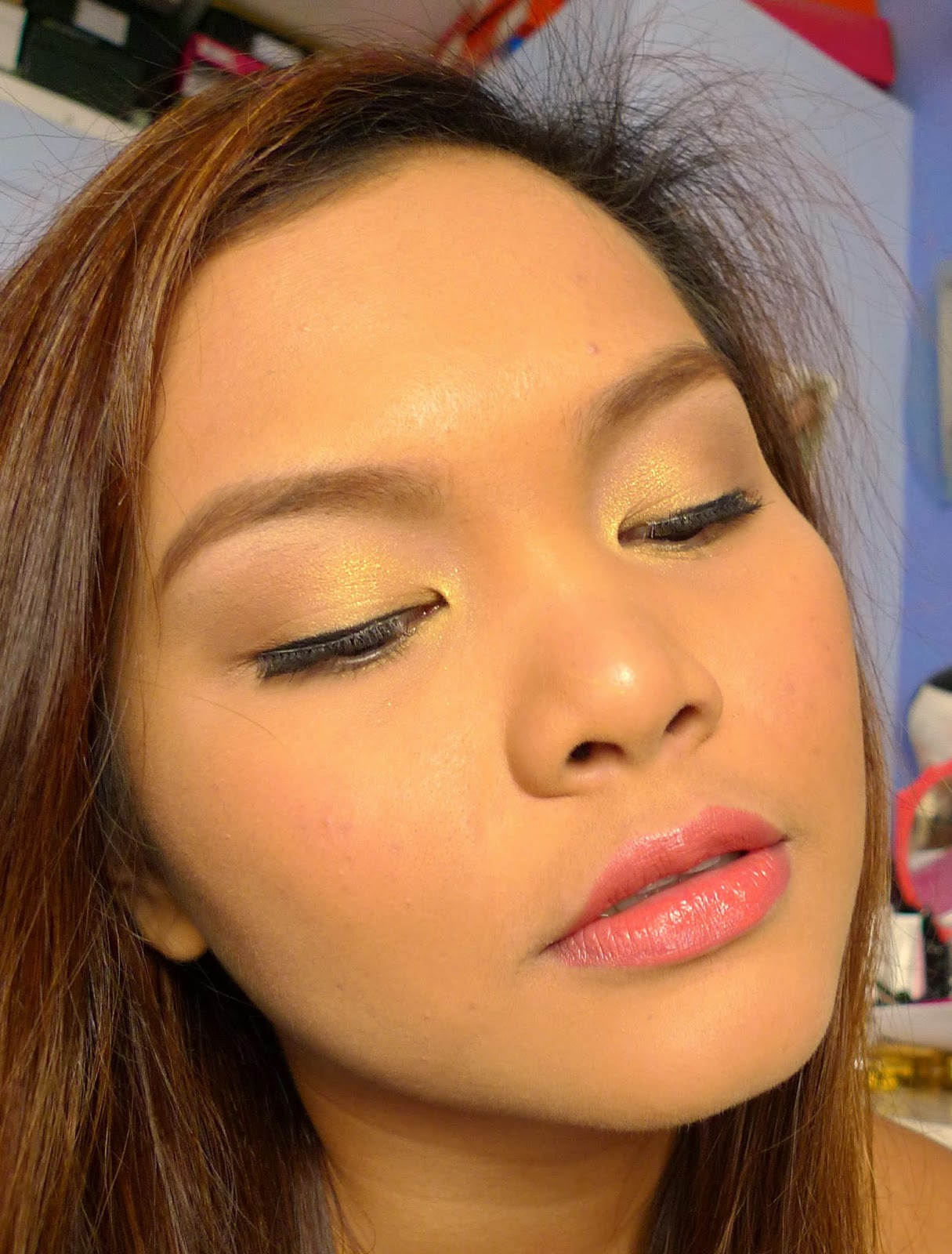 Prom Makeup For Brown Eyes: Prom Look: Ethereal Eyes + Gown Color Match