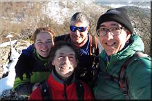 Siskino mendiaren gailurra 854 m. -- 2017ko abenduaren 6an