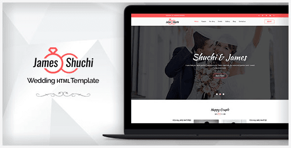 James & Shuchi Wedding HTML Template – FREE WORDPRESS THEMES & PLUGINS