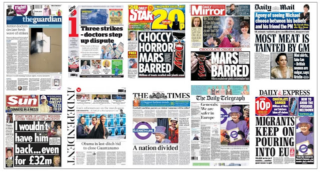 front pages 24-02-16