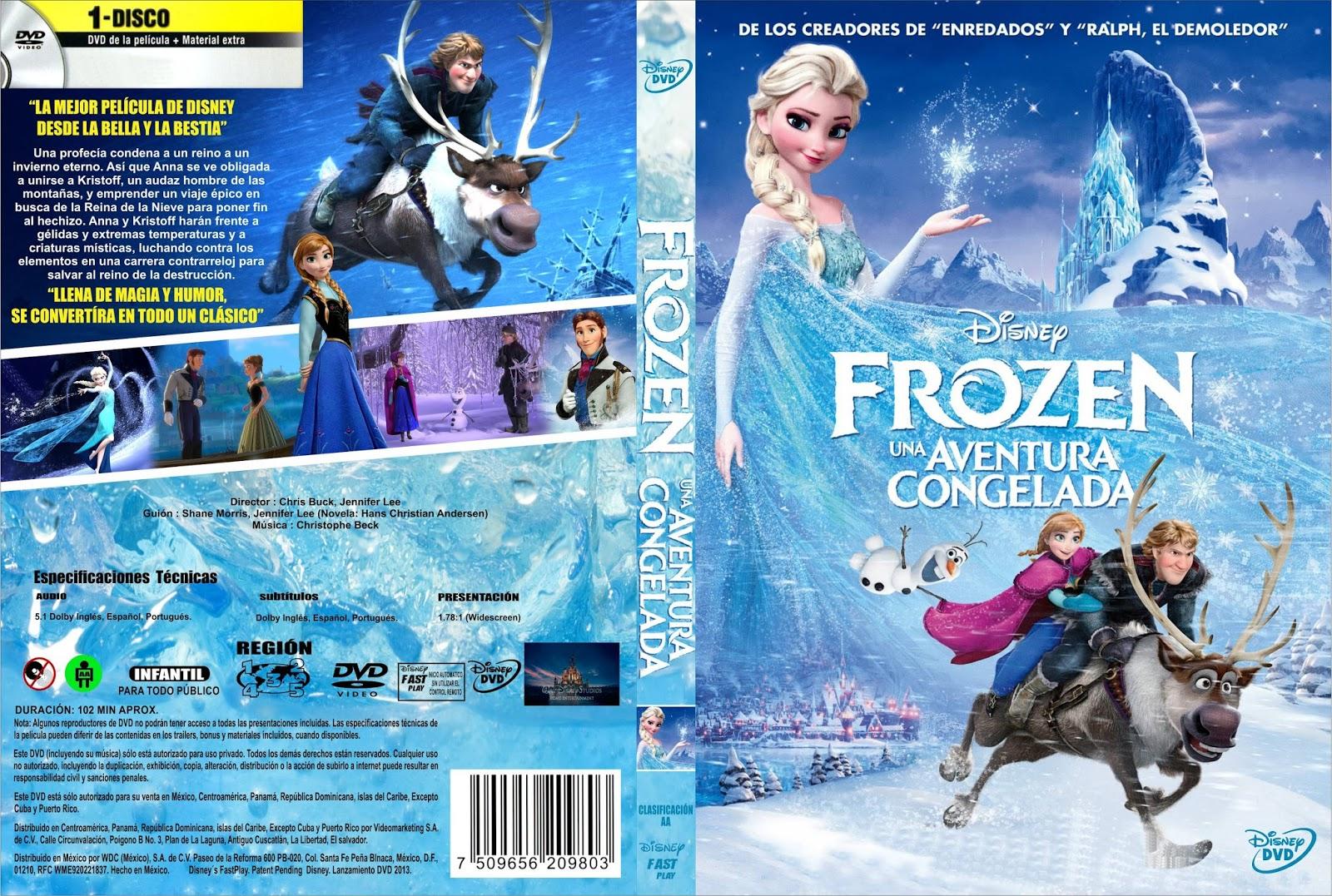Frozen online castellano