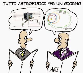 Rosetta, cometa, esa, umorismo