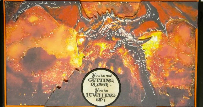 Crafty Fun World Of Warcraft Birthday Card