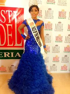 Nneze Richards emerges Face of The World Nigeria 2017?