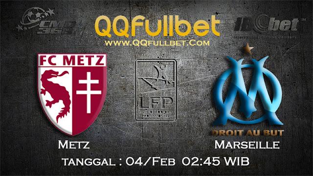 PREDIKSIBOLA - PREDIKSI TARUHAN METZ VS MARSEILLE 4 FEBUARY 2017 (FRANCE LIGUE 1)