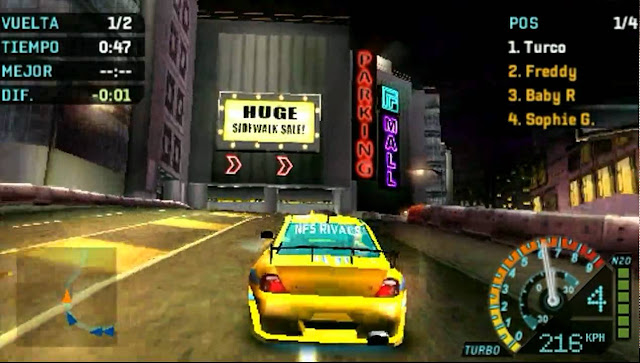 Need for Speed: Underground Rivals screenshot 3
