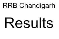 RRB Chandigarh Result