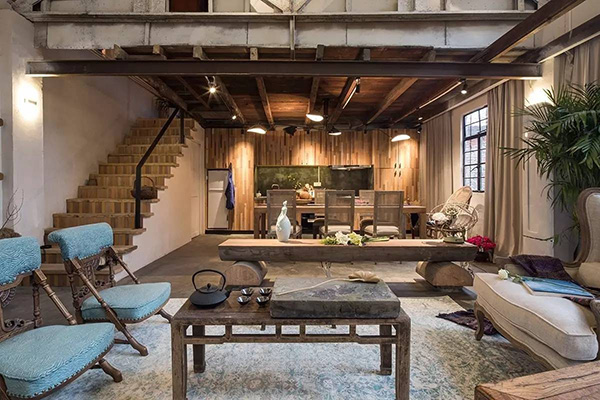 Rustic style furniture Ranch Style Homestead Furniture Interior Decoration Style American Rustic Style