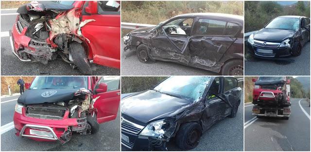 Θεσπρωτία: Τροχαίο ατύχημα στο Μορφάτι Θεσπρωτίας (+ΦΩΤΟ)