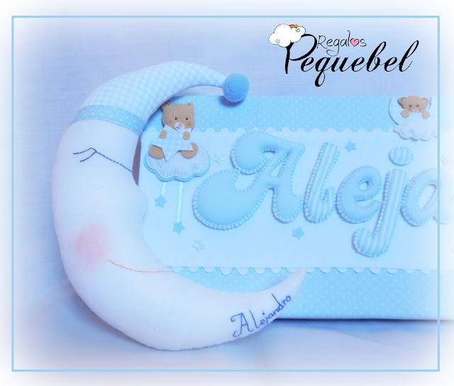 Cojin-bebe-luna-decorar-habitación-bebe-nombre