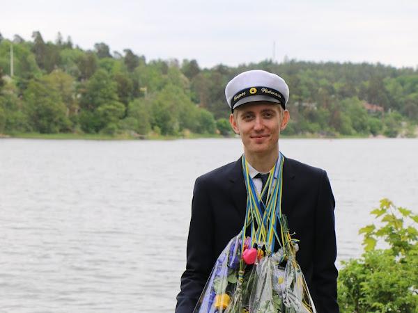 Männerhemd - Studenten in Schweden