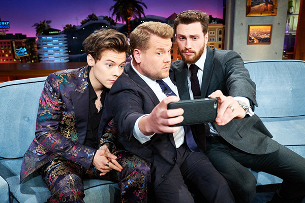 Harry Styles on 'The Late Late Show With James Corden