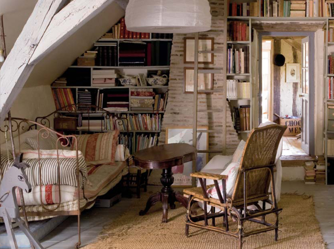 New home interior design old country house in france for Classic house upholstery