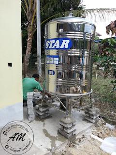 Rumah Idaman : Pemasangan Tangki Air