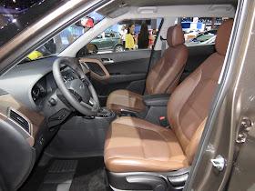 Hyundai Creta 2017 - Salão de São Paulo - interior