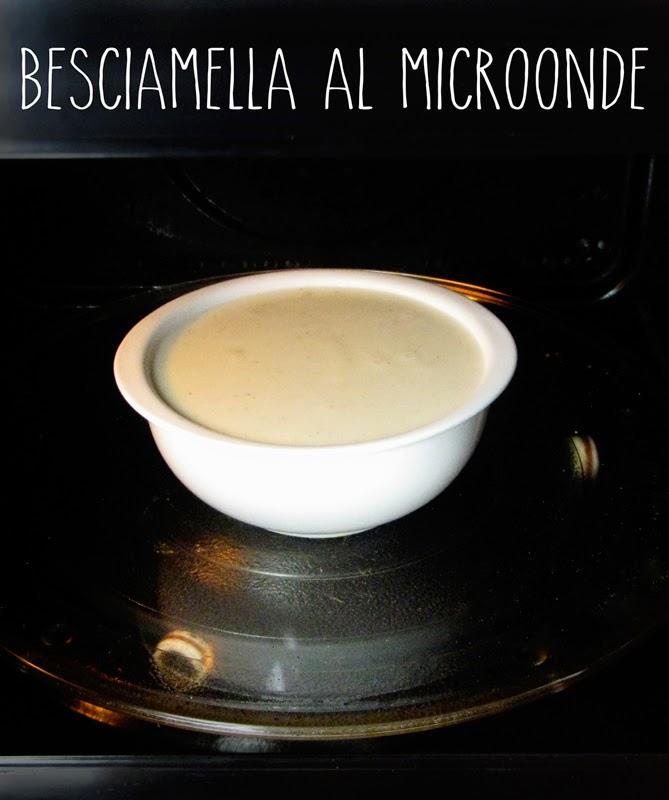 Ricetta Besciamella Nel Microonde.Spelucchino Besciamella Al Microonde