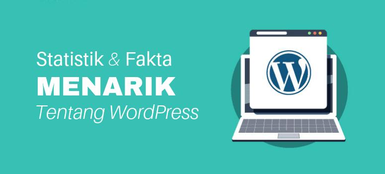 100+ Statistik & Fakta WordPress Menarik (2019)