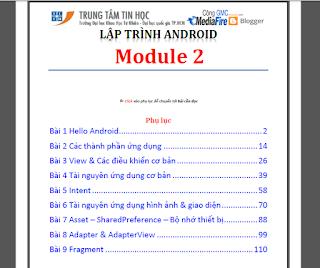 Hot- Chia sẻ giáo trình Android của ĐH Khoa Học Tự Nhiên 2