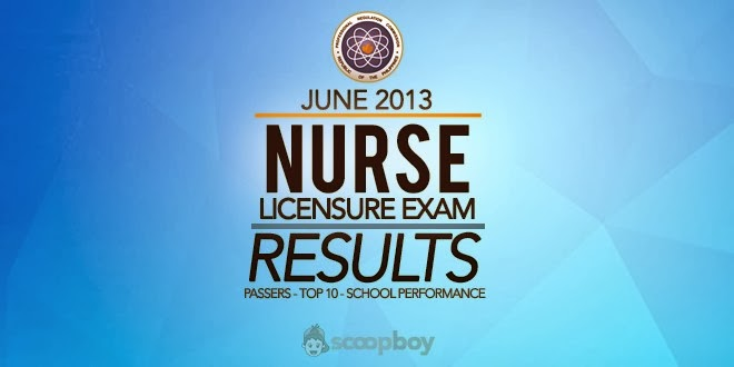 Knowing the June 2013 NLE Nursing Board Exam Result