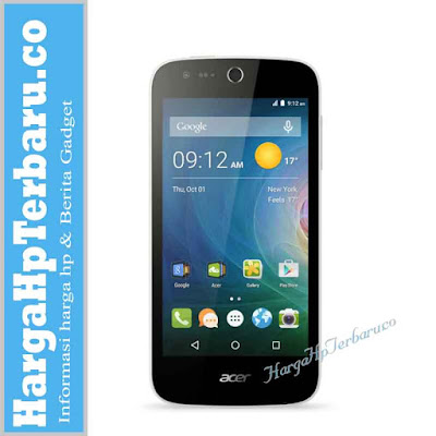 Harga Hp Terbaru Acer Agustus 2016