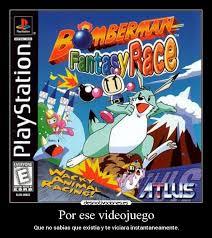 Link Bomberman Fantasy Race PS1 iso clubbit