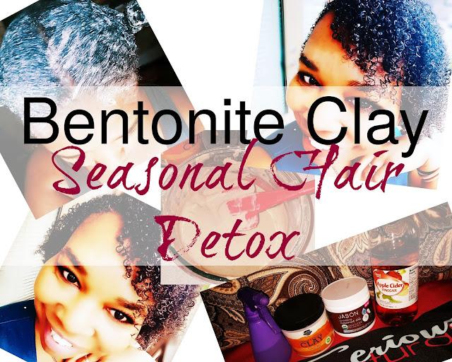 Click her to buy Molivera Organics Bentonite Clay to do a seasonal hair detox