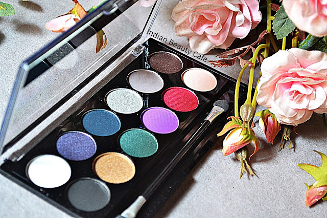 MUA Glamour Nights Eyeshadow Palette Review