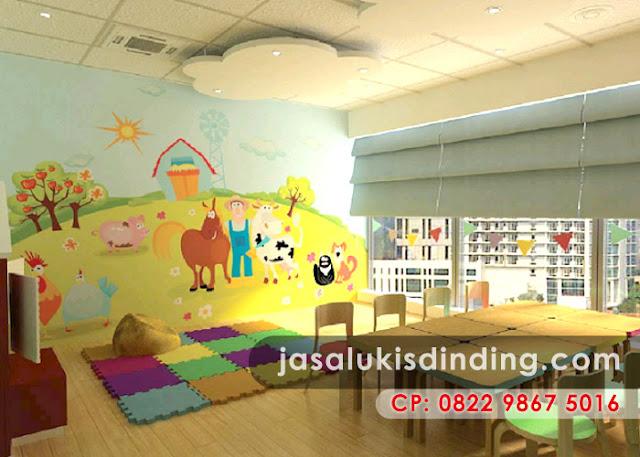 Lukisan Dinding TK