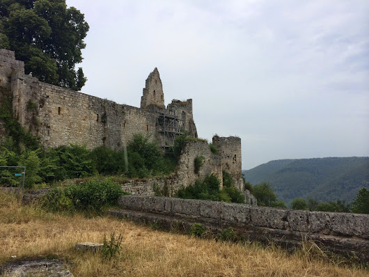 Travel Day 6: Hike and Bad Urach
