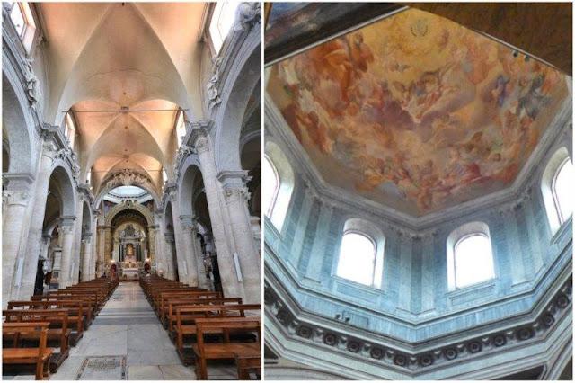 Interior de la iglesia de Santa Maria del Popolo en Roma