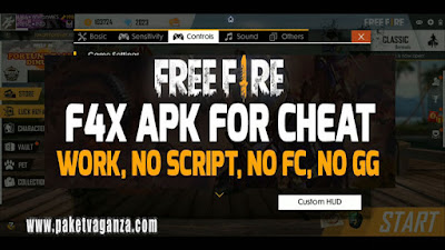 Download FFH4X Apk Mod Joel Headshot Free Fire Terbaru 2019