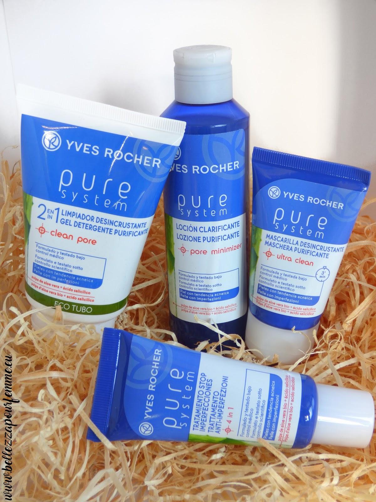 #pellegrassa Linea Pure System di Yvers Rocher