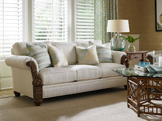 Tommy Bahama Benoa Sofa at Baer's Furniture
