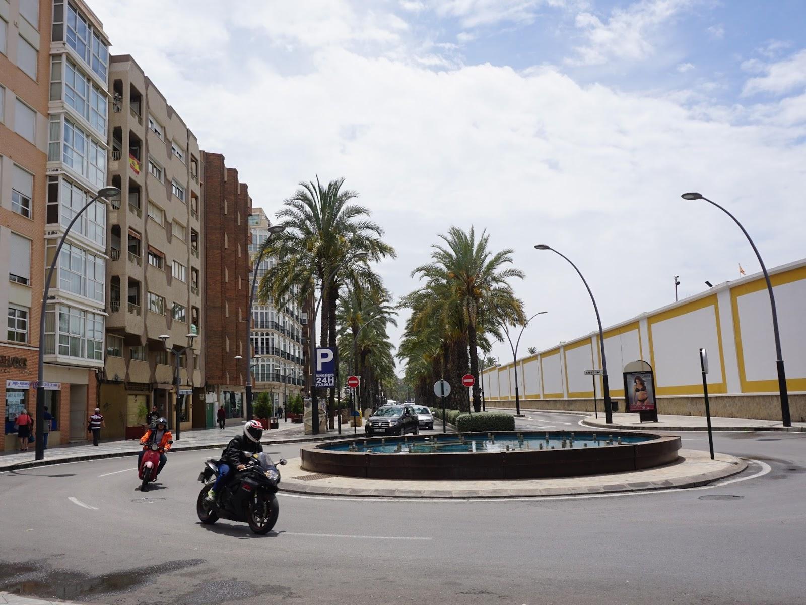 hiszpańskie miasto, Kartagena, panidorcia, blog, Hiszpania, podróże, rondo