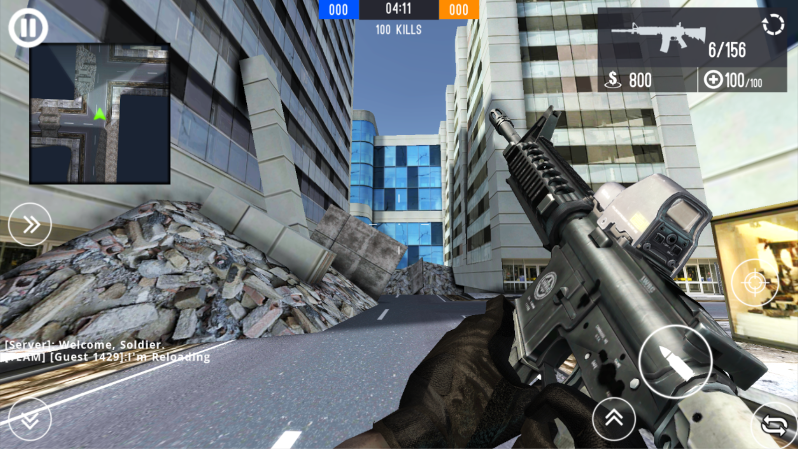 Co Strike Team 2 MOD APK terbaru