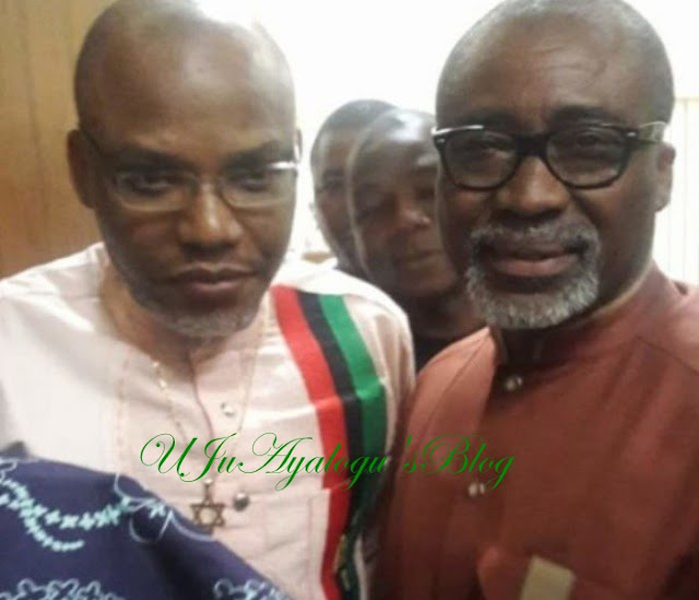 Intriguing: Sen Abaribe Applies To Be Discharged As Nnamdi Kanu's Surety