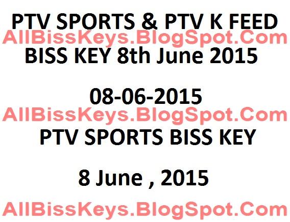 June 2015   PTV Sports Biss Key   PTV Sports Biss Key Daily