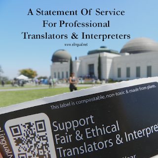 Better Than  A Purchase Order Or An Invoice Is A Statement Of Service For Professional Translators And Interpreters